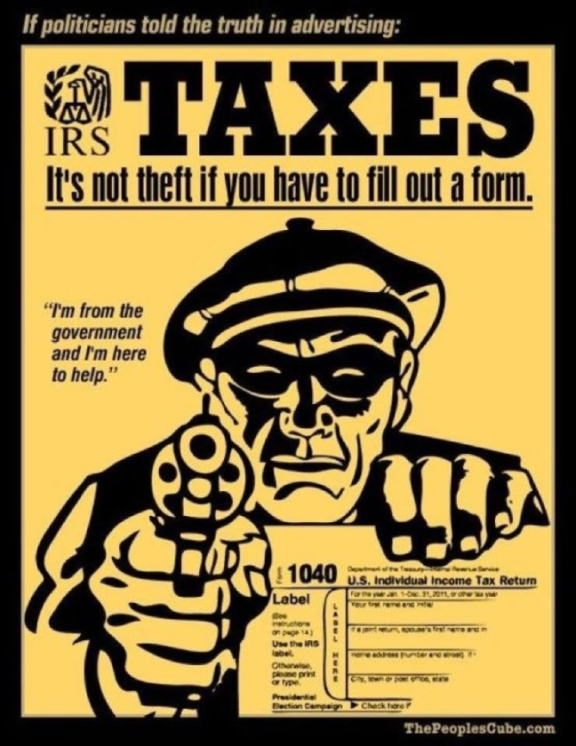 Tax is Surgery, Not Virtue, Not Theft, Not Slavery – Alvarism ...